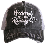 Weekends are for Racing Trucker Hat