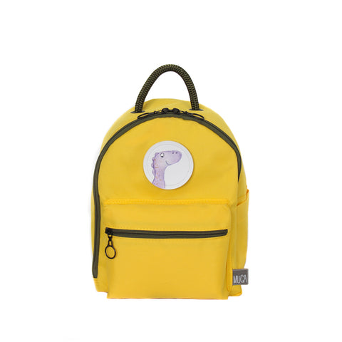 Toddler Backpack - Yellow MINI GOGI