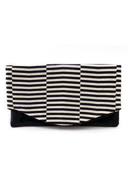 Clutch – Mit echtem Lammnappa-Leder – Muster 20 - Colorblind Patterns
