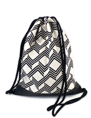 Rucksack Turnbeutel  – Muster 09 - Colorblind Patterns