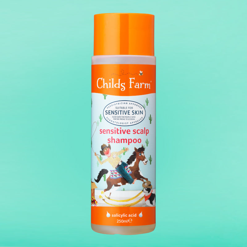 Childs Farm sensitive scalp shampoo, unfragranced 250ml