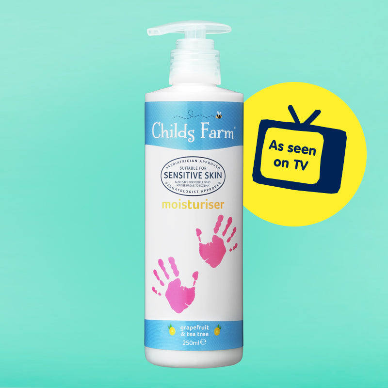 Childs Farm moisturiser, grapefruit & organic tea tree oil 250ml