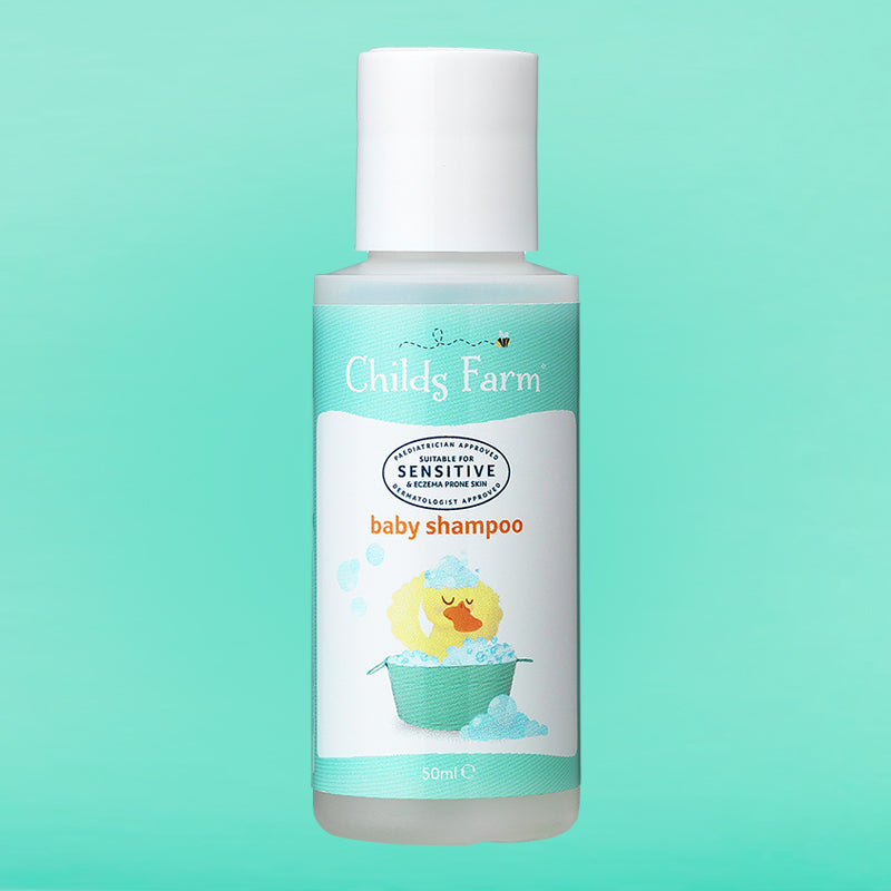 Childs Farm baby shampoo, fragrance free 50ml