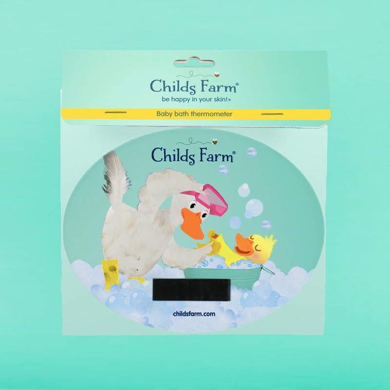 Childs Farm baby bath thermometer