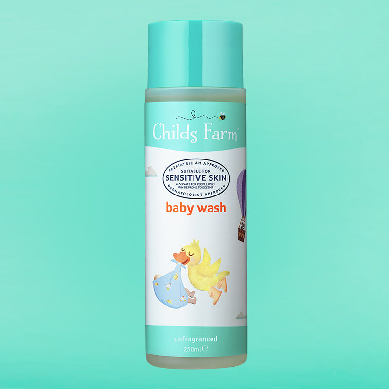 Childs Farm baby wash, unfragranced 250ml