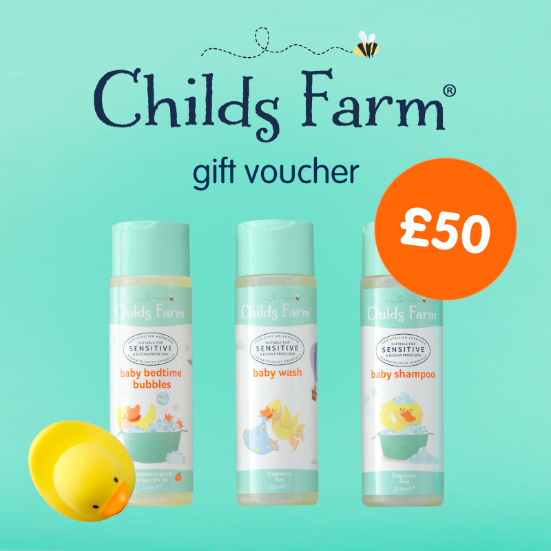Childs Farm gift voucher fifty pounds