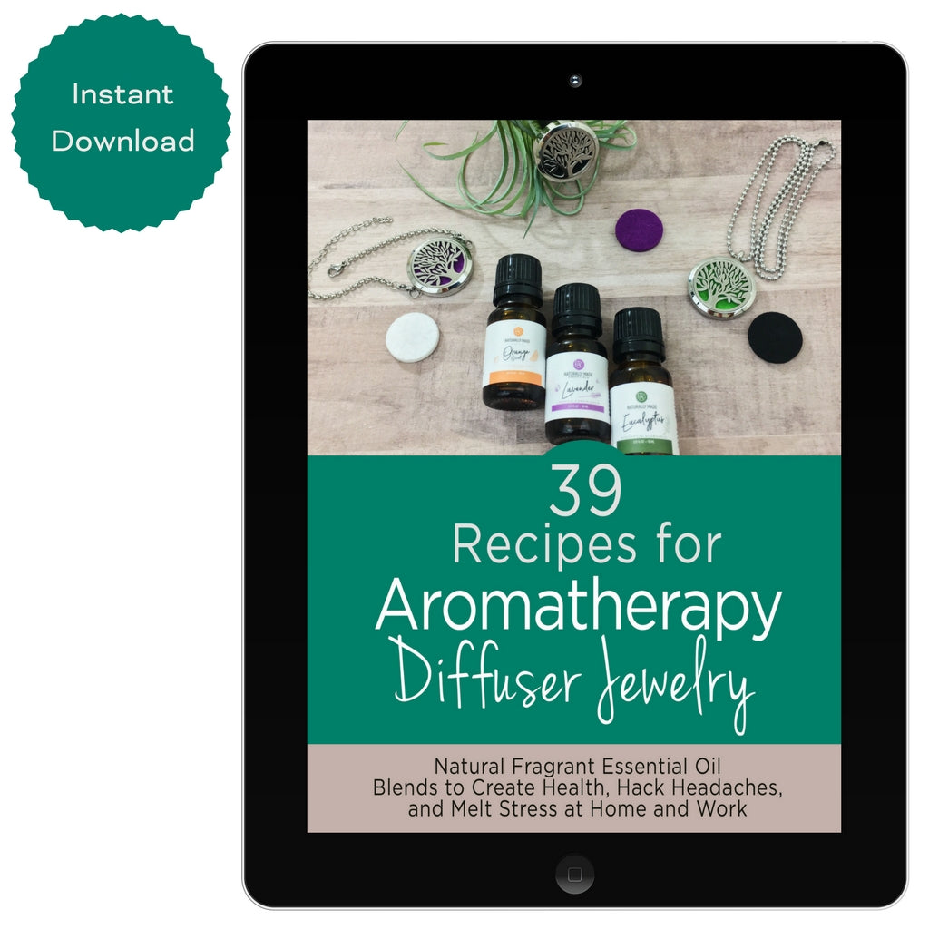 39 Recipes for Aromatherapy Diffuser Jewelry Physical-Book