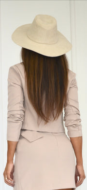 Vogue Khaki Crop Jacket