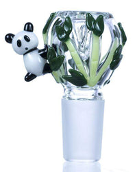 14mm Panda Glass Bowl by Empire Glassworks