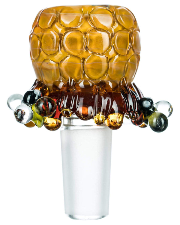 14mm / Male Beehive Glass Bowl by Empire Glassworks