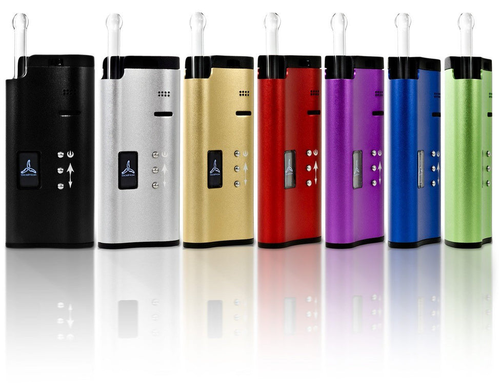 Black SideKick Vaporizer by 7th Floor