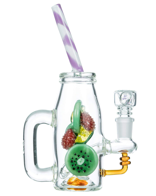 Blueberry Fruity Detox Bong by Empire Glassworks