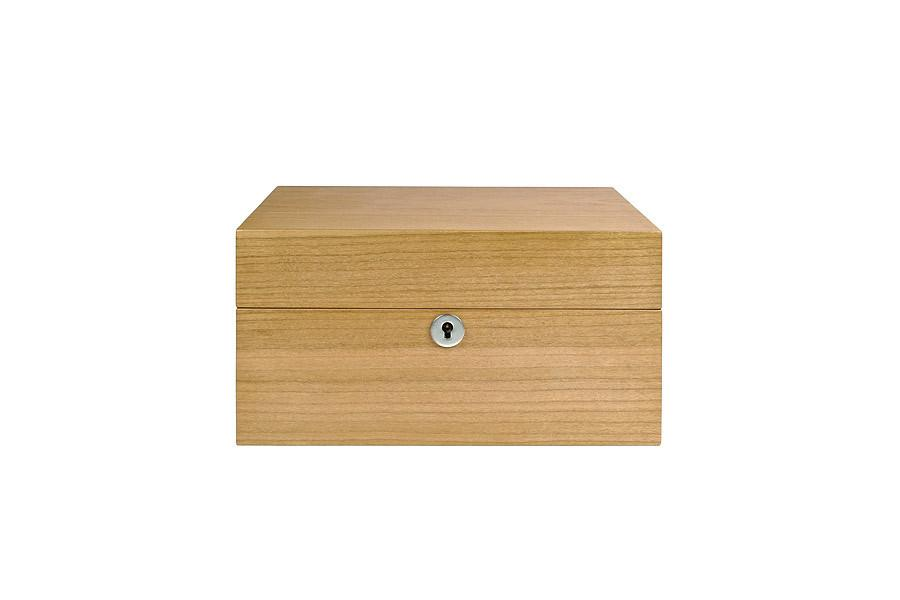 Cherry 4-Strain Humidor (w/Nook) by Cannador