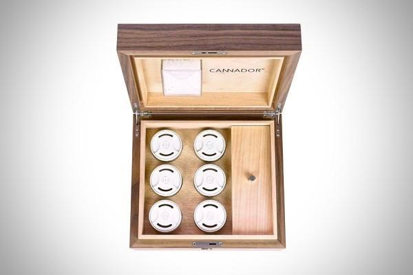 6-Strain Humidor (w/Nook) by Cannador