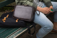 Leather Travel Case by Cannador