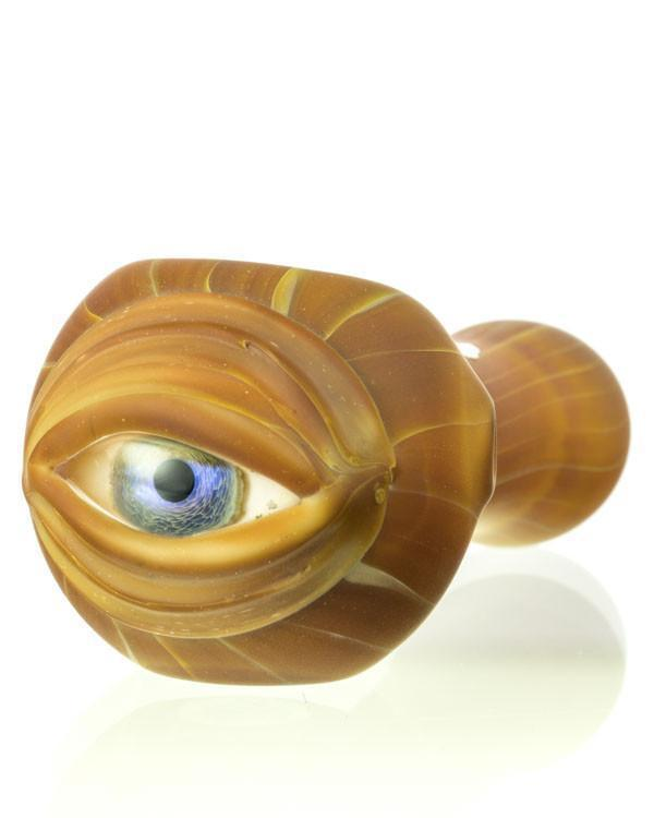 Wood Grain Cyclops Pipe by Chameleon Glass