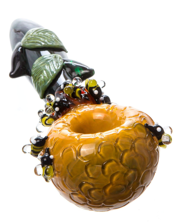 Default HoneyPot Hand PIpe by Empire Glassworks