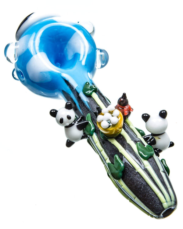 Default Yin & Yang Panda Pipe by Empire Glassworks