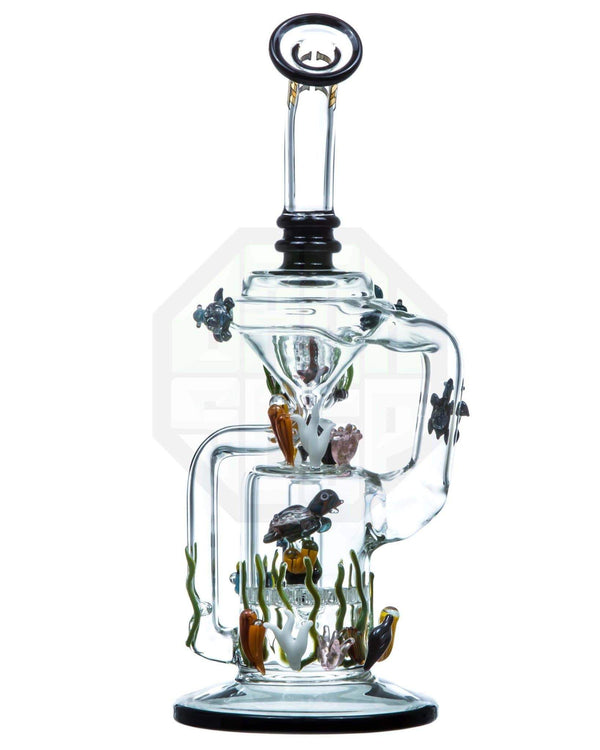 California Current Recycler by Empire Glassworks