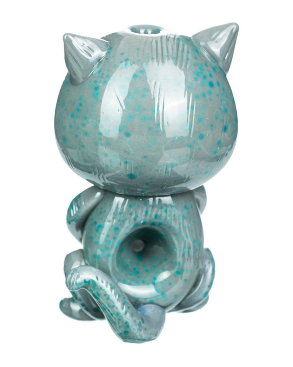 """Galacticat"" Hand Pipe by Empire Glassworks"