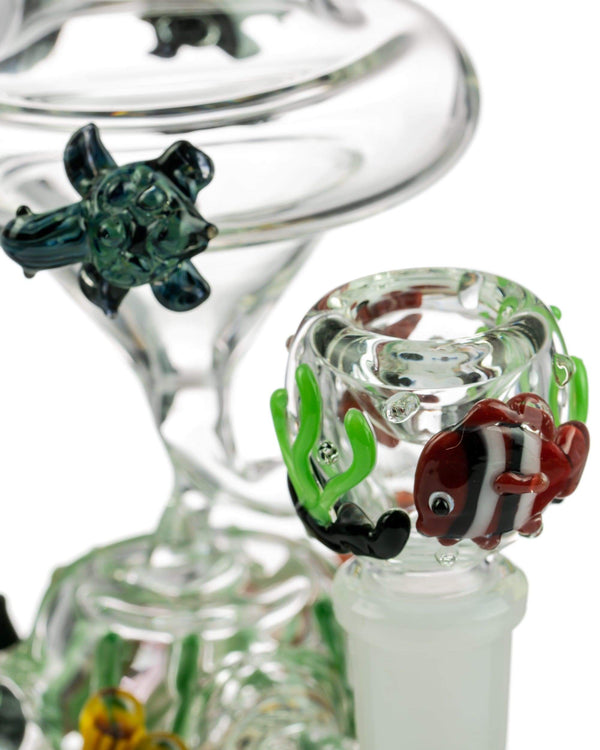 Mini East Australian Current Recycler by Empire Glassworks