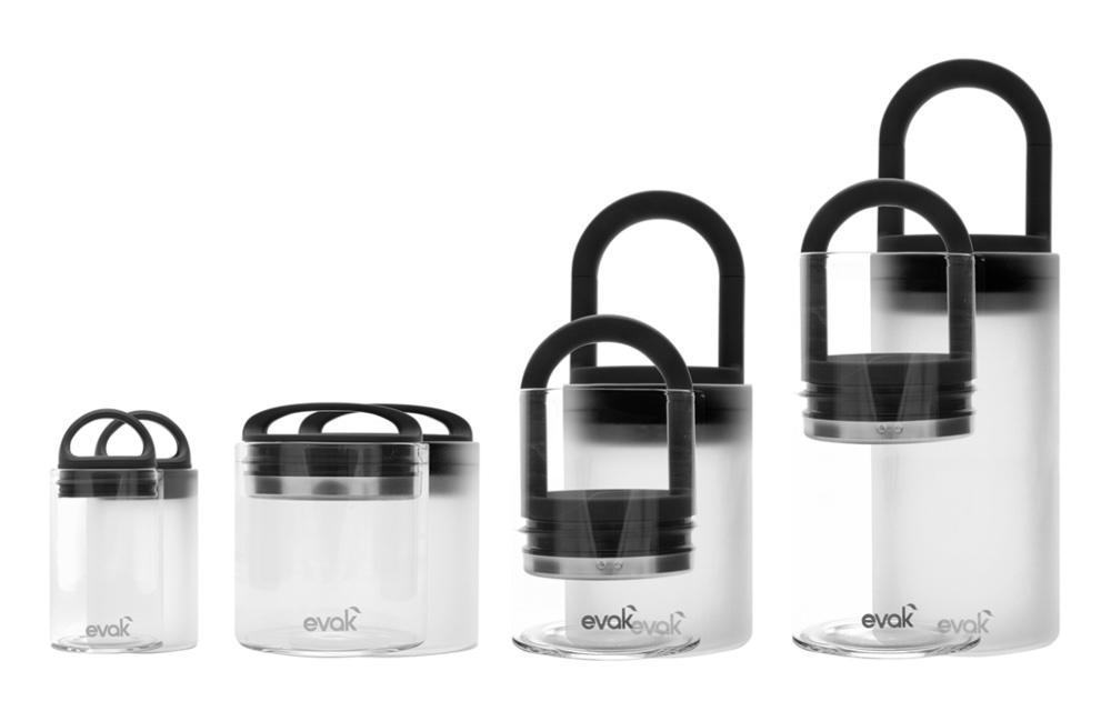 Clear Glass Container by Evak