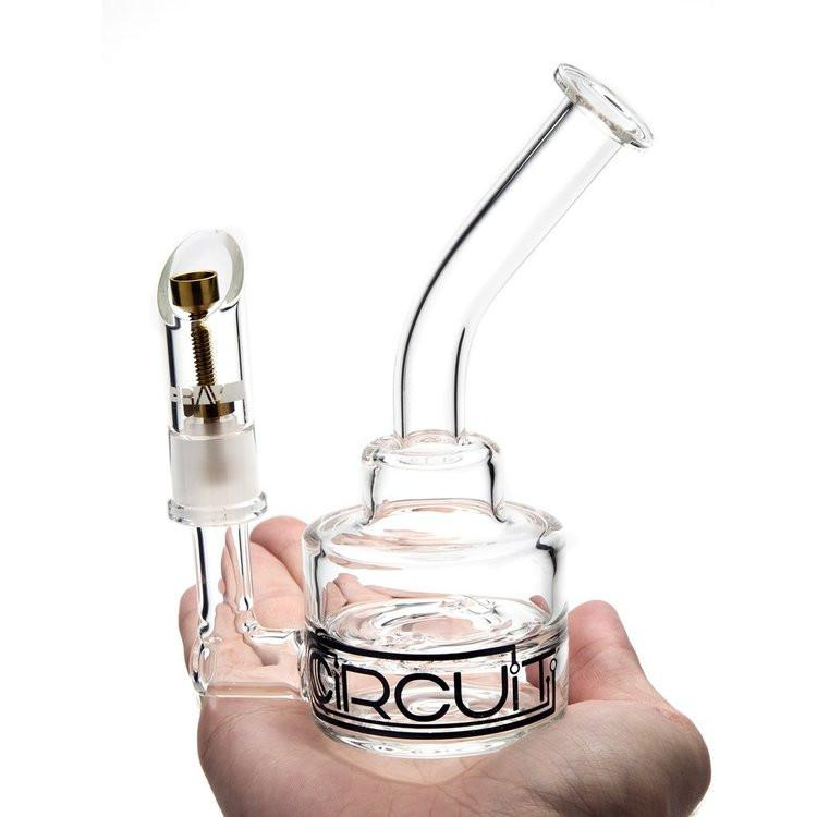Circuit Bent Neck Dab Rig (Large) by Grav Labs
