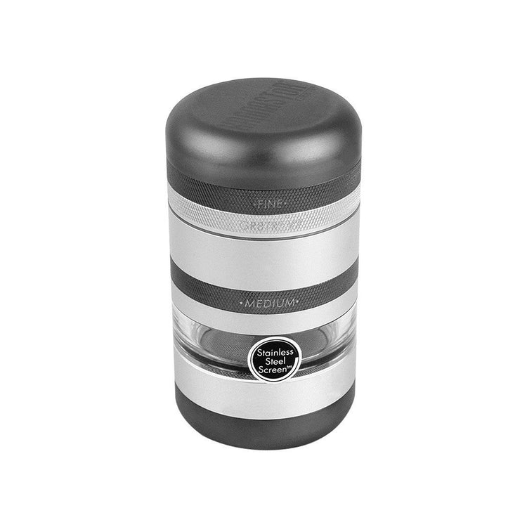 Matte Black GR8TR V2 Jar Body Grinder by Kannastor