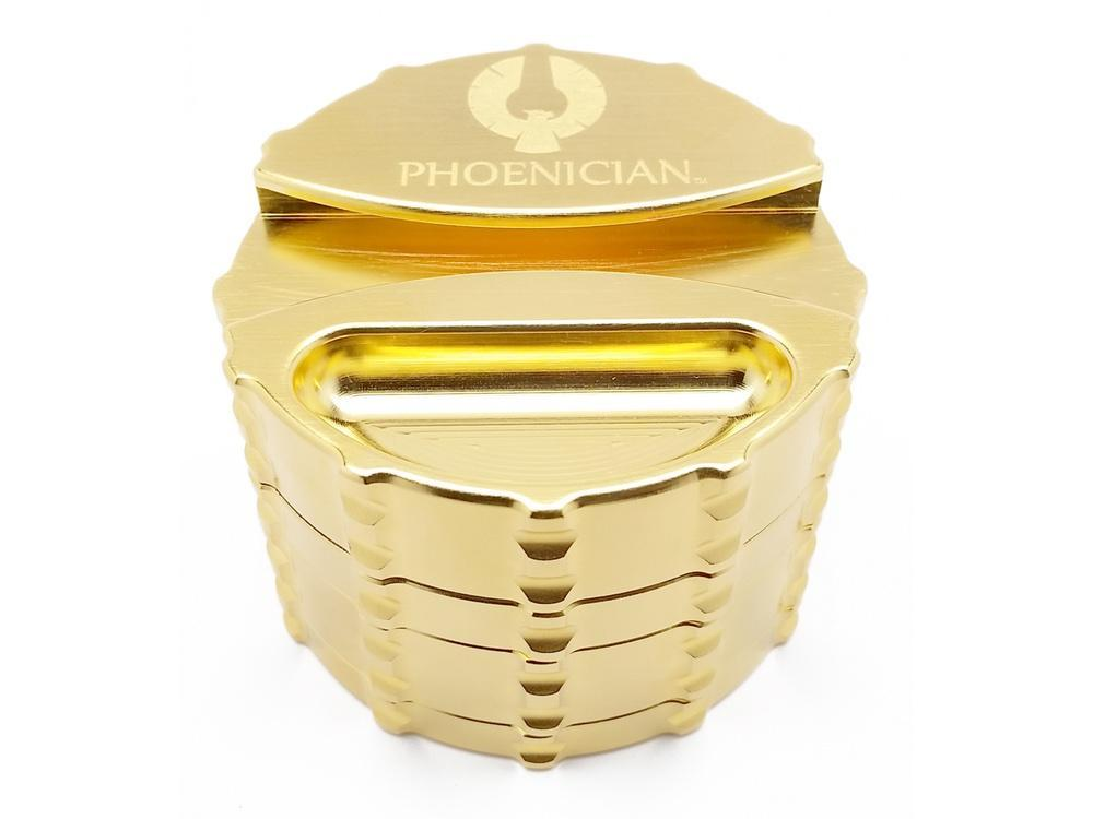 24-kt Gold-Plated Grinder by Phoenician Engineering