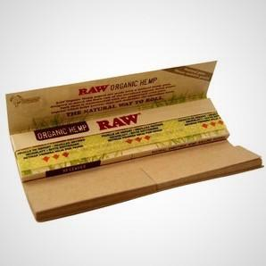 Single Pack Organic Connoisseur Kingsize w/Tips by Raw