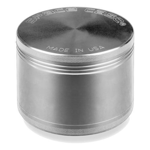 Small 4-Piece Silver Grinder by Space Case
