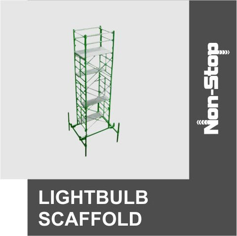 Non-Stop Lightbulb Scaffold