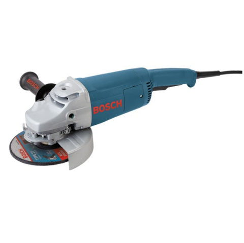 BOSCH 1772-6 7 In. 15 A Large Angle Grinder with Rat Tail Handle (938563141668)