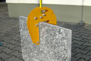 Wimag 305 500 kg Clamp for upright slabs (7681703813)