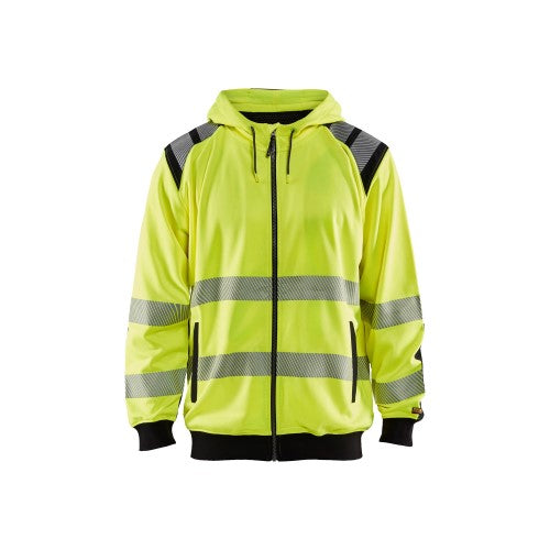 Blaklader 3446-1974 Hi-Vis Hooded Sweatshirt (6556932145312)
