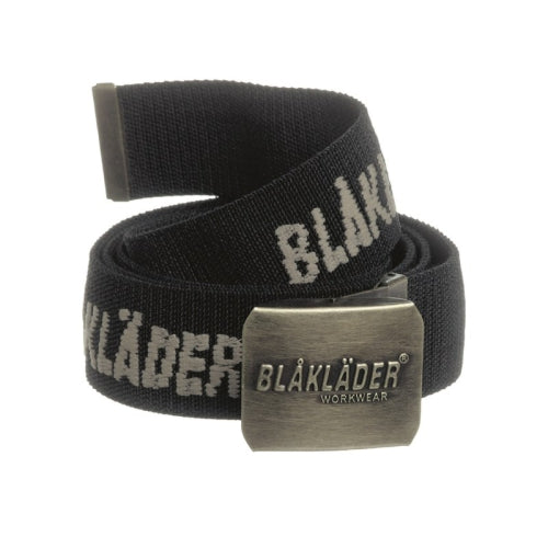 Blaklader 4013-0000 Stretch Web Belt - With Embroidered Logo (599019323428)
