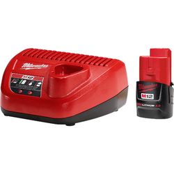 CLEARANCE - Milwaukee M12 2.0 Starter Kit (793455460388)