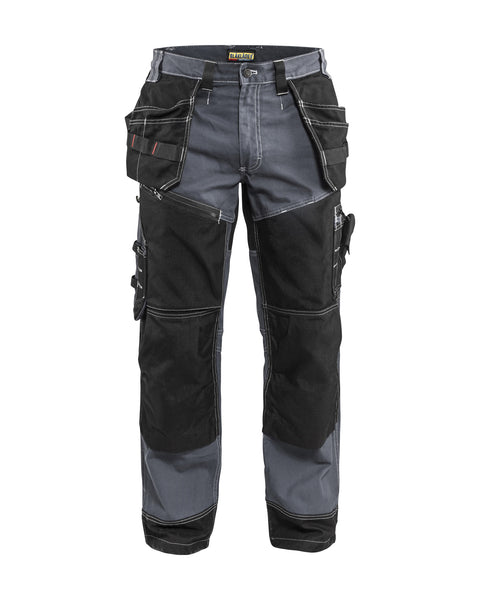 Blåkläder 1600 Work Pant Grey/Black 16001370