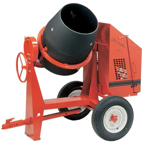 Crown C6P - 6 cu ft Poly Drum Concrete Mixer - FREE DEPOT SHIPPING (conditions apply)