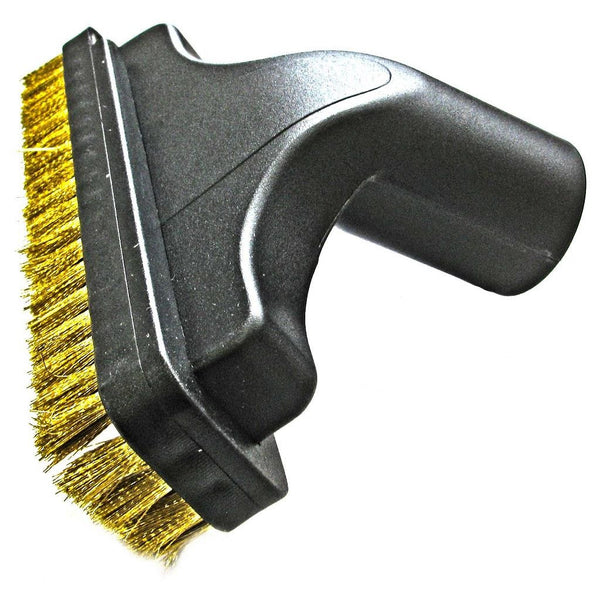Dustless Rectangular Ash Vac Wire Brush Tool