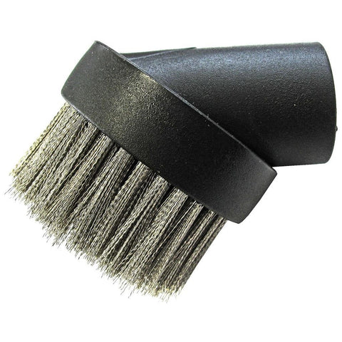 Dustless Round Ash Vac Wire Brush Tool