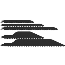 Danish Tools Carbide Reciprocating Saw Blades - Black (1367348707364)