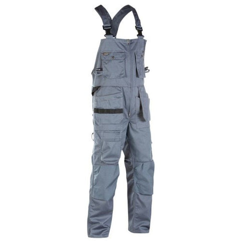 CLEARANCE - Blaklader 2602-1860 Grey Bib Overalls (4368235528323)