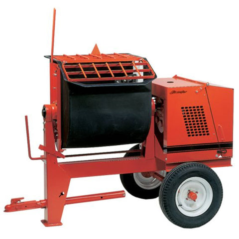 Crown 6P Poly Drum Mortar Mixer - (FREE SHIPPING - conditions apply)
