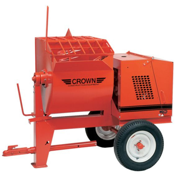Crown 8S Mortar Mixer with Steel Drum