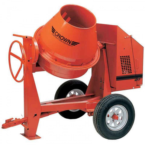 Crown C6 - 6 cu ft Concrete Mixer - (FREE SHIPPING - conditions apply)