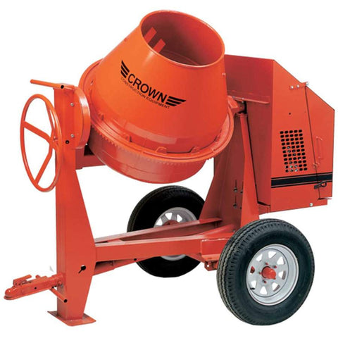 Crown C9 - 9 cu ft Concrete Mixer - FREE DEPOT SHIPPING (conditions apply)