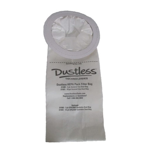 Dustless Filter Bag Open -D1505 (4400748101763)