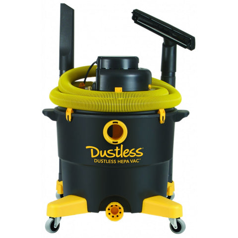 Dustless 16 Gal HEPA Wet Dry Vacuum