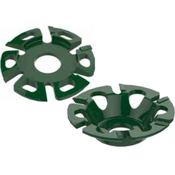 Danish Tools Carbide Trimming Discs - Green (1367946428452)